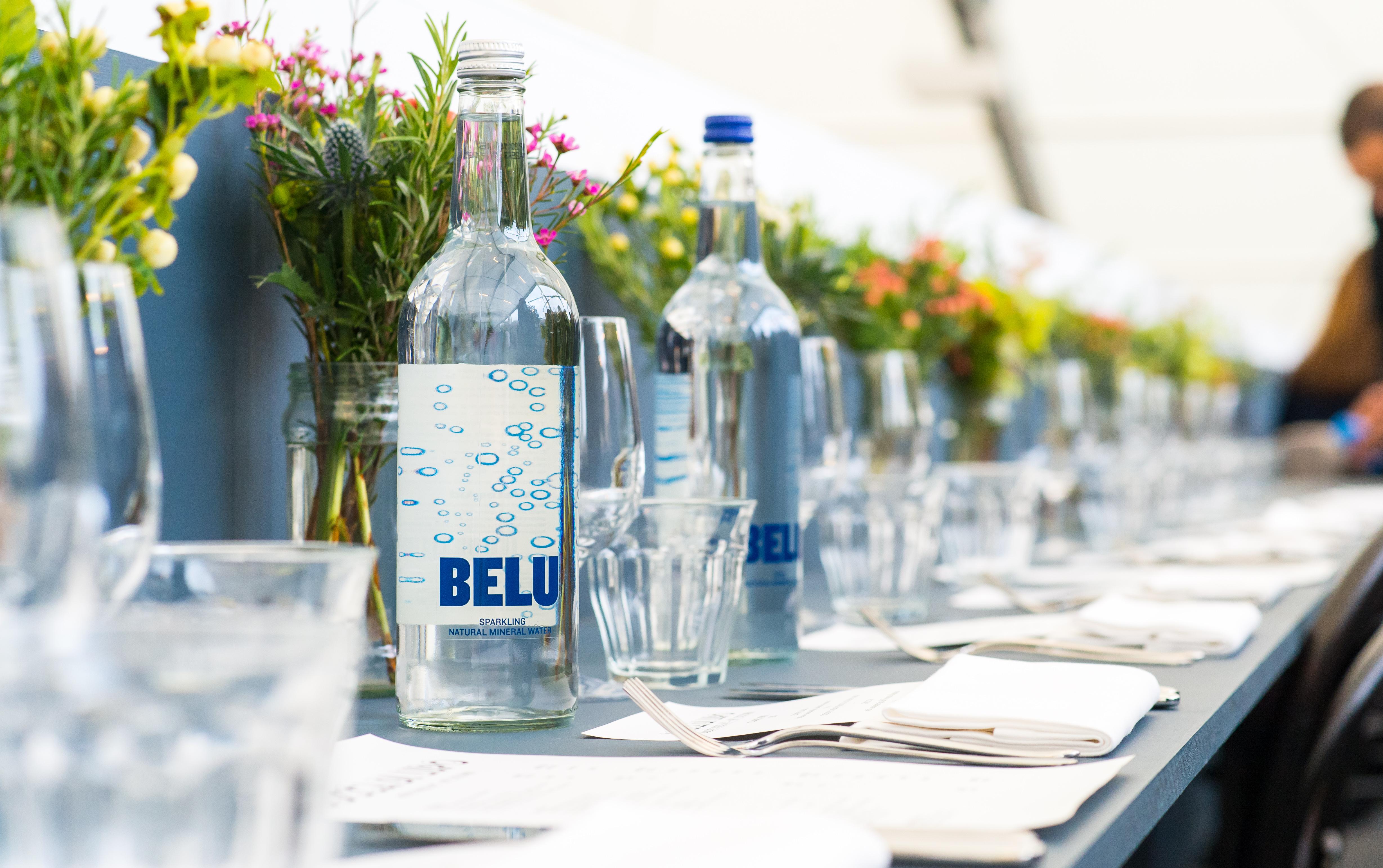 Belu mineral water event