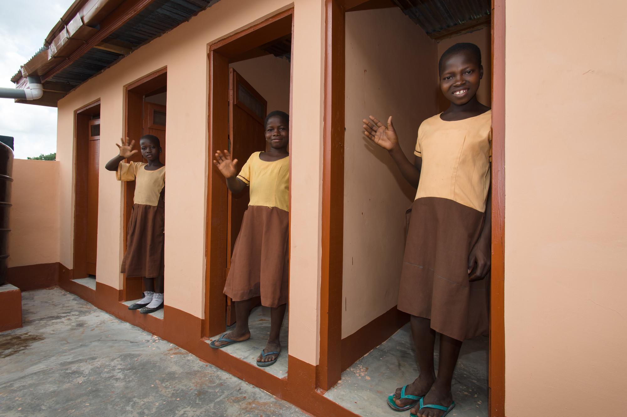 Sanitation in Ghana WaterAid